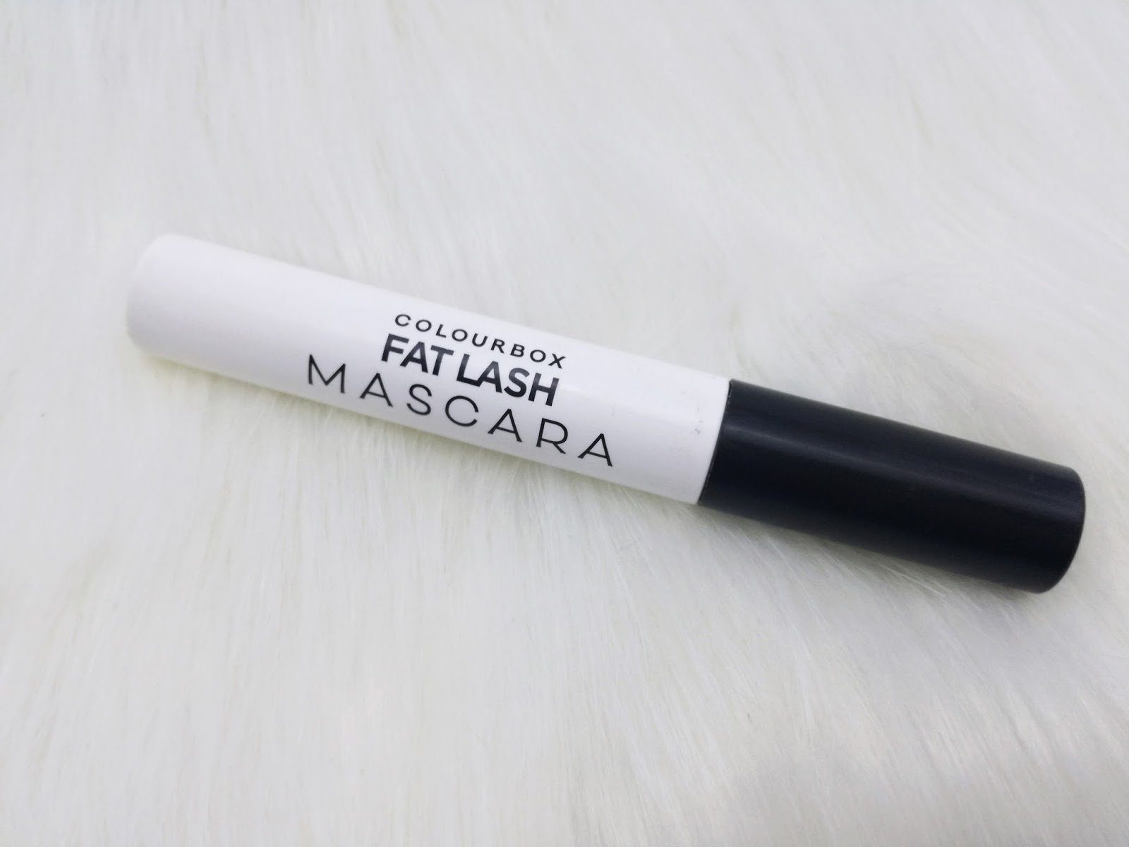 My favourite mascara: Oriflame ColourBox Fat Lash