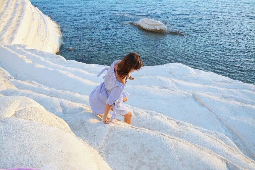 sicilija turške stopnice scala dei turchi