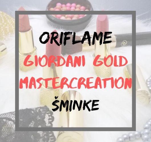 giordani gold mastercreation šminke