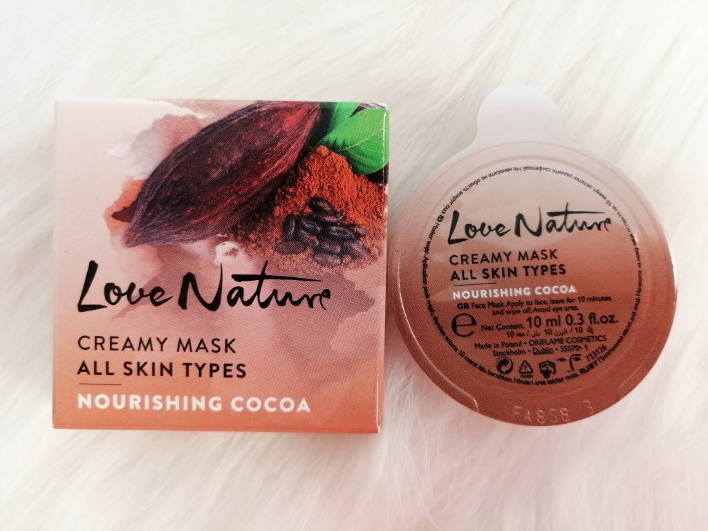 oriflame-love-nature-face-masks-nourishing-cocoa