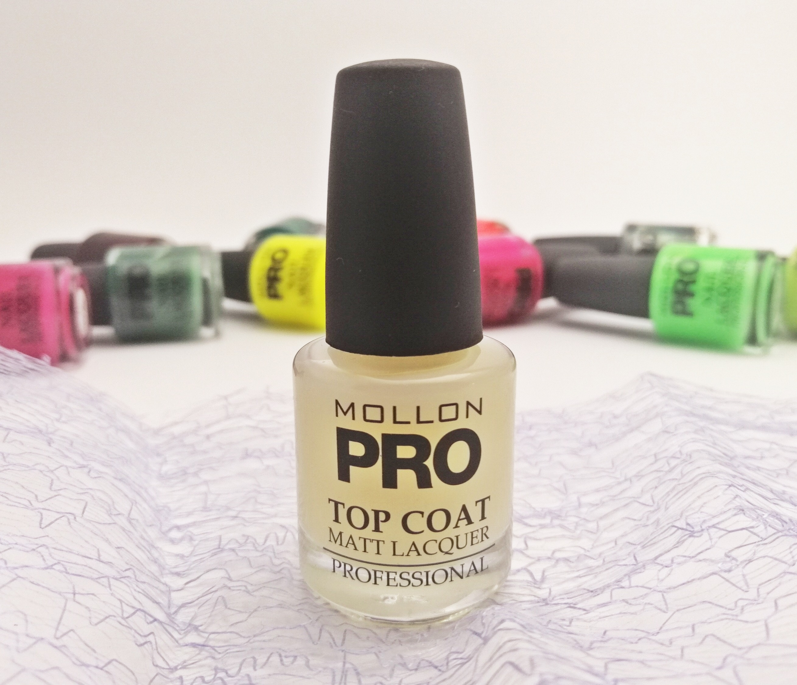 Mollon Pro: Matte top coat