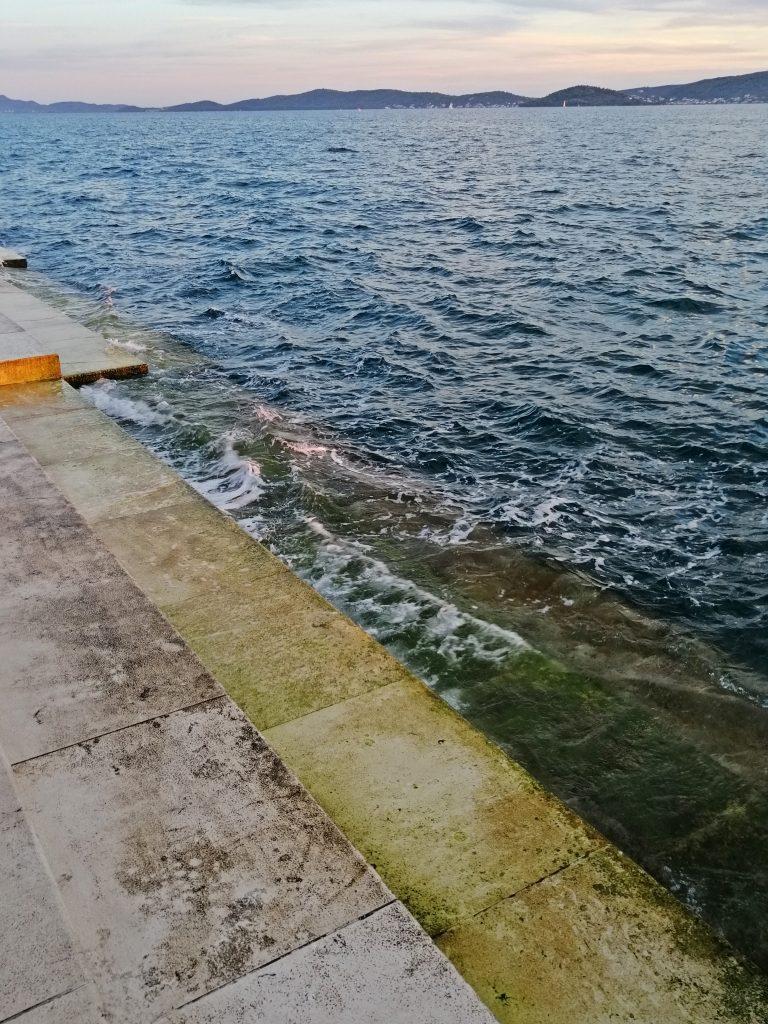 zadar hrvaška dalmacija morske orgle