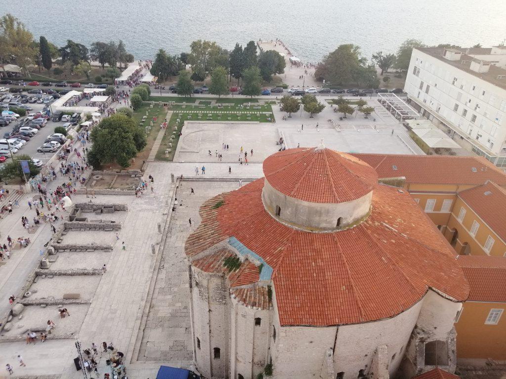 zadar hrvaška dalmacija zvonik razgled