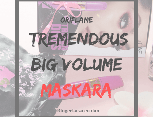 Oriflame TremenDous Big Volume maskara