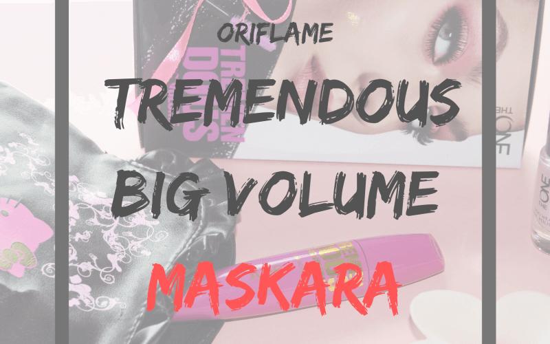 Oriflame TremenDous Big Volume maskara