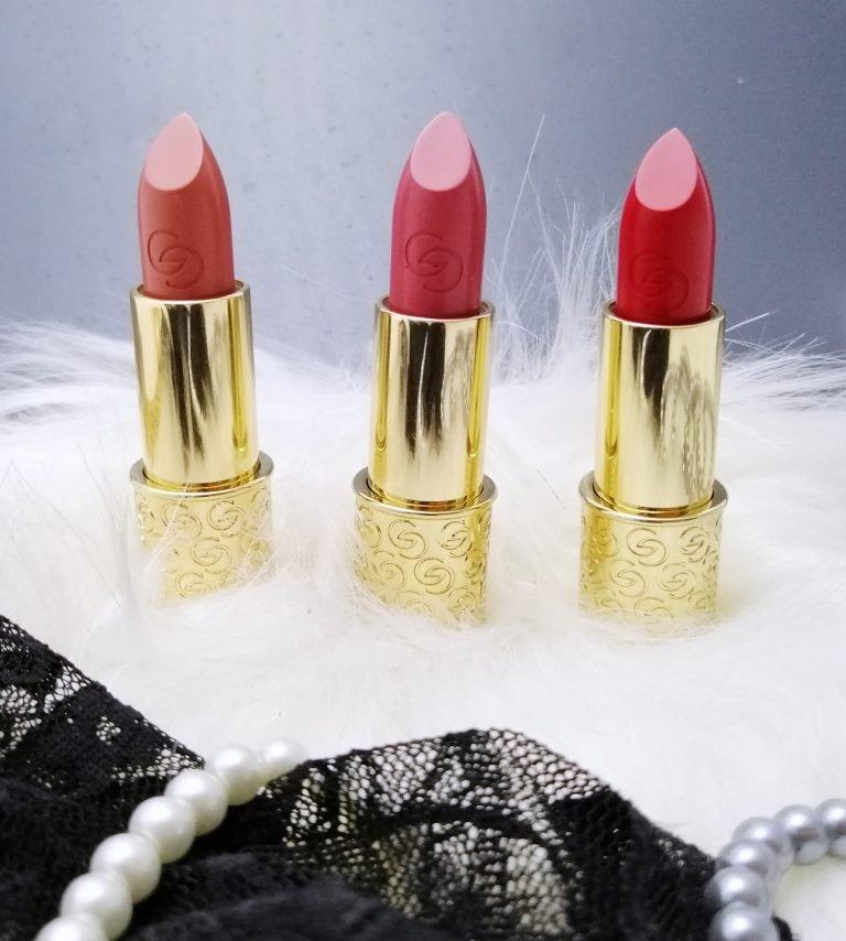 favourite-of-2019-make-up-giordani-gold-mastercreation-lipsticks-red-romance