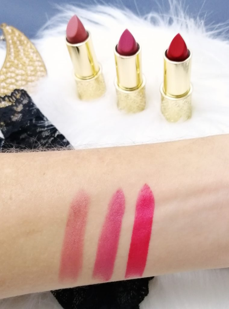 favourite-of-2019-make-up-giordani-gold-mastercreation-lipsticks-red-romance