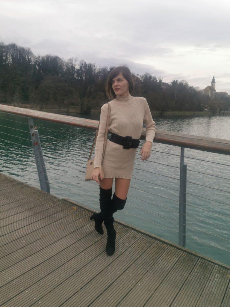 femmeluxe-online-fashion-store-stone-high-neck-bodycon-jumper-dress-esmelia